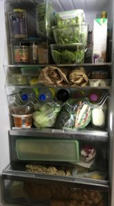 A small well insulated refrigerator saves energy